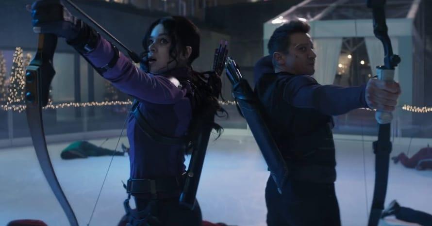 Kate Bishop Hawkeye Jeremy Renner Hailee Steinfeld Marvel Studios MCU Disney Plus Kevin Feige