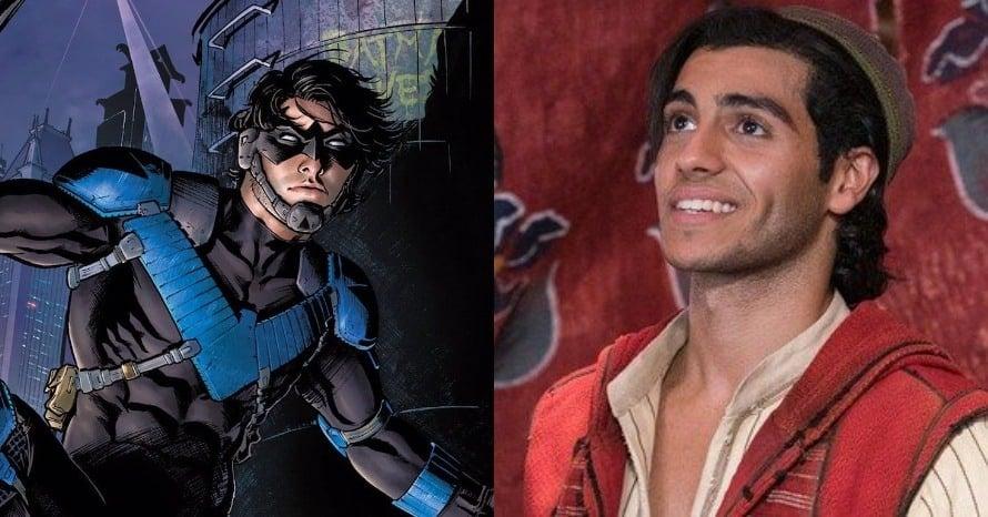 Mena Massoud Aladdin DCEU Nightwing