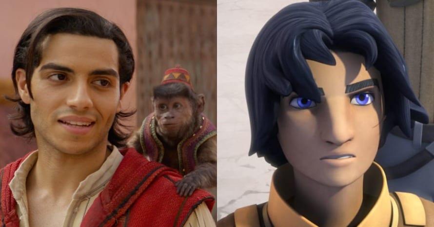 Mena Massoud Aladdin Star Wars Ezra Bridger
