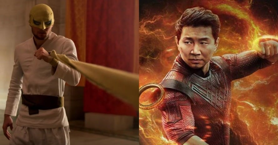 Shang-Chi Simu Liu Iron Fist