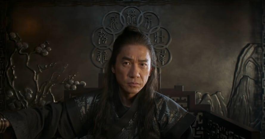 Shang-Chi and the Legend of the Ten Rings Simu Liu Tony Leung Mandarin