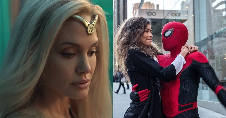 Spider-Man Far From Home Eternals Marvel