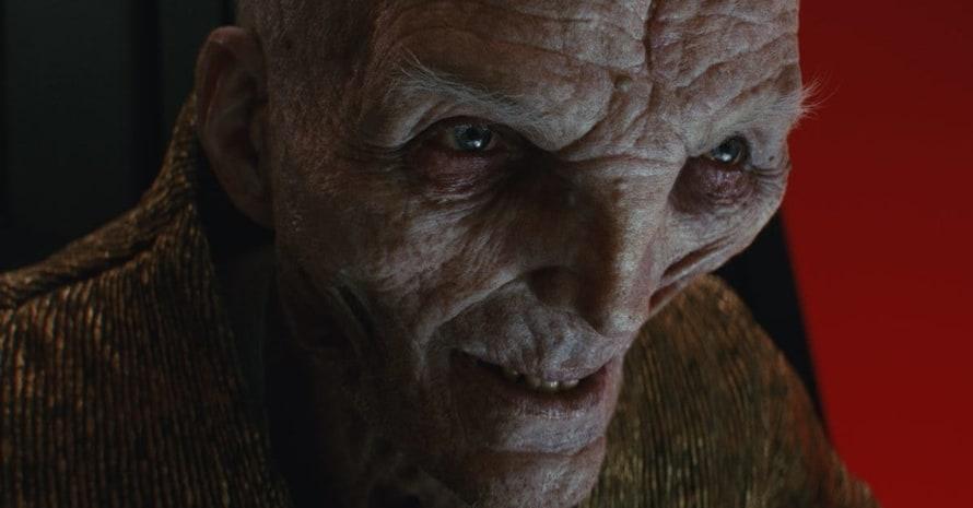 Andy Serkis Star Wars Snoke Andor