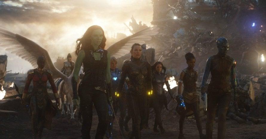 Avengers Endgame A-Force