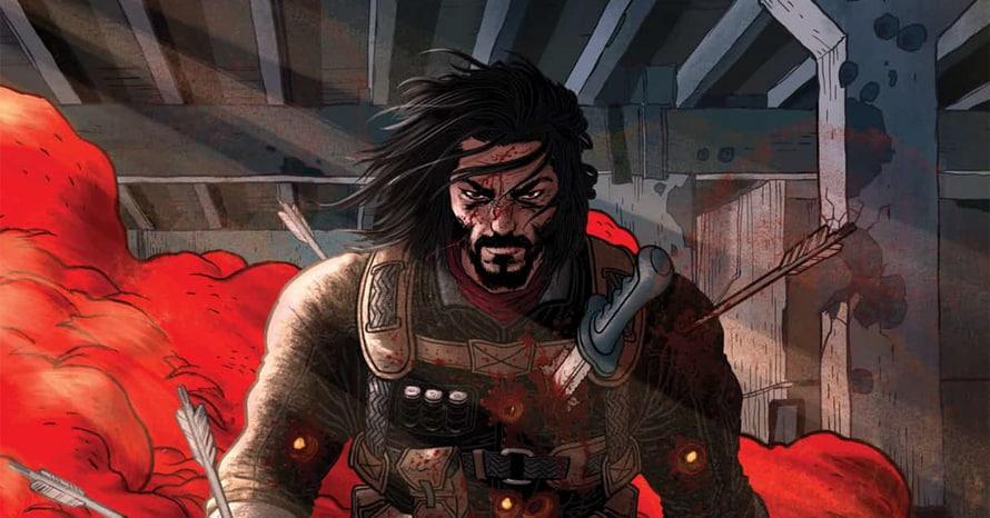 BRZRKR Keanu Reeves The Batman Netflix