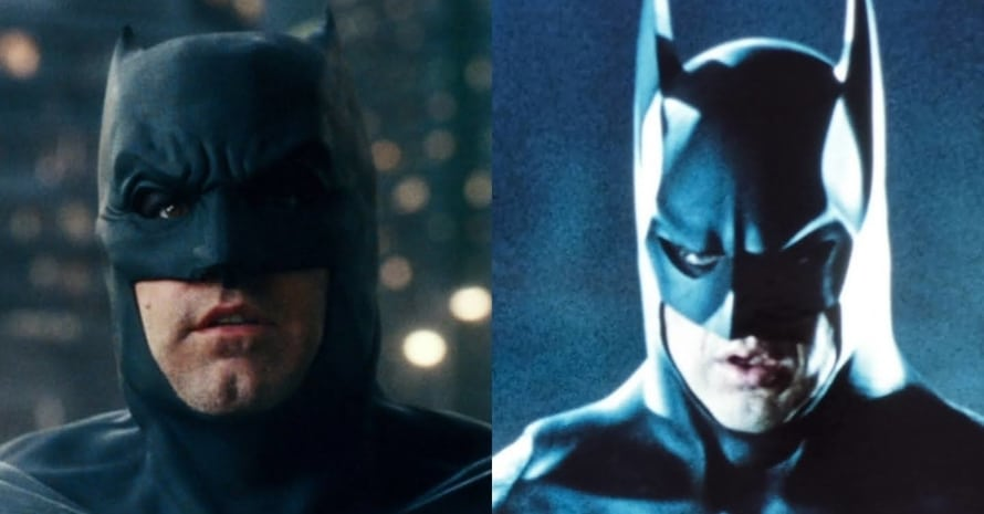 Ben Affleck Michael Keaton The Flash Batman