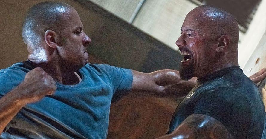 Dwayne Johnson Vin Diesel Fast And Furious