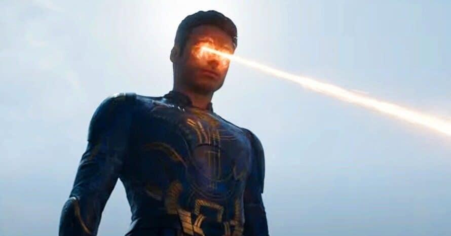 Marvel Superman Chloe Zhao Eternals Ikaris TV Spot MCU Richard Madden Shang-Chi Black Widow Mafv