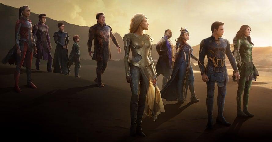 Eternals Chloe Zhao Marvel Studios Poster Ramin Djawadi