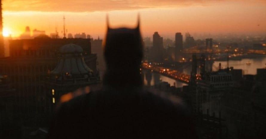 The Batman Robert Pattinson Matt Reeves Trailer Shot