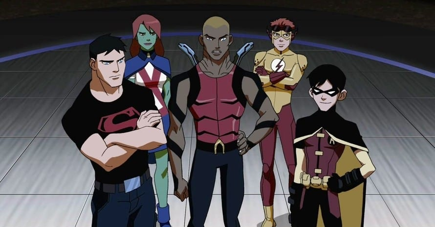 Young Justice Phantoms DC FanDome